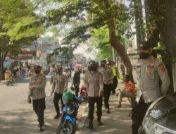 Kasat Samapta Polres Cimahi Gelar Operasi Yustisi PPKM Level 3