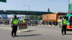 Sat lantas Polres Cimahi Masih Berlakukan Ganjil Genap di Beberapa Ruas Jalan