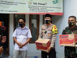 Giat Sinegritas TNI – Polri Bansos Ke Panti Asuhan Muhammadiyah Margaasih