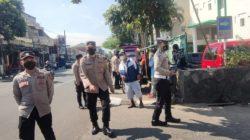 Personel Polres Cimahi Gelar Operasi Yustisi PPKM Level 3 Penanggulangan Pandemi Covid 19