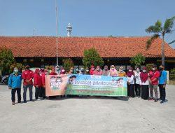 PMI Kota Tangerang, PMI Kecamatan Benda dan Tim Sibat Belendung Dampingi Promkes Penguatan 3M di Sekolah Yang Memulai PTM