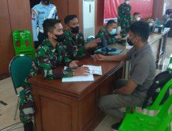 Tim Vaksinator Lanud SIM Gelar Serbuan Vaksinasi di Banda Aceh Convention Hall