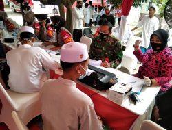 Tim Vaksinator SIM Laksanakan Vaksinasi Di Pesantren Istiqamatuddin Darul Mu'arrif Aceh Besar