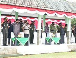 Kapolres Bersama Forkopimda Kota Banjar Menghadiri Serah Terima Jabatan Danyon Raider 323 Kostrad