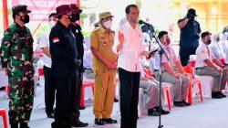 Pangdam I/BB dan Kapoldasu Dampingi Presiden Jokowi Tinjau Vaksinasi di SMKN 1 Beringin Deliserdang