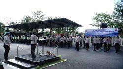 Kapolres Banjar Pimpin Apel Gelar Pasukan Operasi Patuh Lodaya 2021