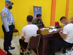 Serbuan Vaksinasi Satgas Covid Lanud SIM Kembali Di Laksanakan Di Kantor Camat Blang Bintang Aceh Besar