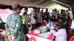 Lanud SIM Gelar Serbuan Vaksin Di Monumen Pesawat Aneuk Galong Sibreh Aceh Besar