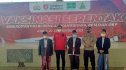 BAM Indonesia Bersama PWNU Banten Bergandeng Tangan Sukseskan Program Vaksinasi Merdeka Polri