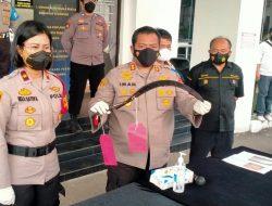 Unit Reskrim Polsek Pondok Aren Polres Tangsel Ringkus Komplotan Begal di Bawah Umur