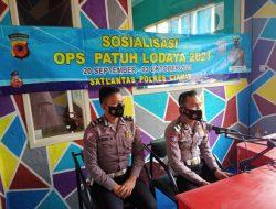 Sat Lantas Polres Ciamis Kembali Sosialisasikan Operasi Patuh Lodaya 2021 Lewat Radio Actari Cikoneng