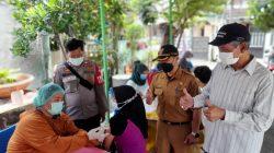 Polsek Pamulang Gelar Vaksin Merdeka Tahap II di 8 Kelurahan