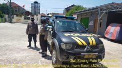 Giat Patroli Strong Point Wiralodra Di Jalan Pasar Anggota Polsek Terisi Antisipasi C-3