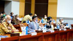 Rapat Kerja Komisi I DPR RI dengan Kementerian Kominfo, KPI Pusat, KIP Pusat, dan Dewan Pers terkait Pagu Anggaran Kominfo T.A. 2022