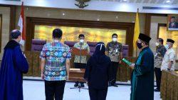 Sachrudin Resmi Lantik Kadinkes Kota Tangerang