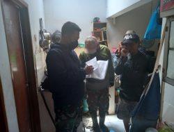 Sektor 22 Citarum Harum, Lkukn Pengecekan dan Penomeran Bangunan Liar di Bantaran Anak Sungai Citeupus Wilayah Sub 13