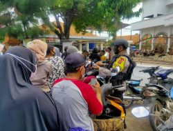 Brimob Jabar Amankan Pendaftaran Calon Pilkades Kertasura