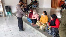 Giat 3T Dalam Rangka Pendisiplinan PPKM Level 2 Anggota Polsek Lelea Di Desa Nunuk