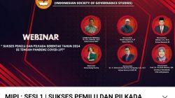 Sukseskan Pemilu dan Pilkada 2024, MIPI Gelar Webinar Sesi I