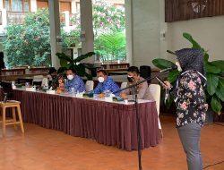 Kapolres Ciamis Hadiri Rapat Evaluasi Pembukaan Destinasi Wisata di Pangandaran