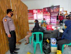 Satuan Samapta Polres Ciamis Bersama TNI Lakukan Pengamanan di Gedung Pramuka