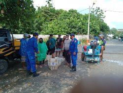 Sat Pol Airud Polres Ciamis Sambangi Warga Masyarakat Nelayan Pangandaran