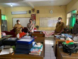 Polres Ciamis Monitoring Dan Evaluasi Penerapan Protokol Kesehatan di lingkungan Sekolah