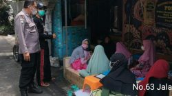 Bhabinkamtibmas Grogol Utara Himbau Anak Pengajian Untuk Gunakan Masker