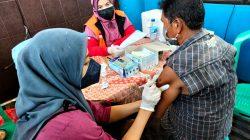 Dishub Kota Bekasi Gelar Vaksin Dosis 1 dan 2 di Terminal Induk di Momentum HUT Perhubungan Nasional