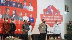 Sinergitas Polri dan UIN Raden Mas Sahid, Percepat Vaksinasi Covid19 di Sukoharjo