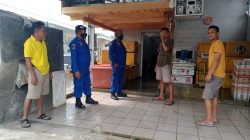 Sat Pol Airud Polres Ciamis Giat Patroli di Kawasan Pelelangan Ikan Pangandaran