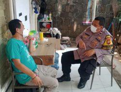 Bhabinkamtibmas Senayan Lakukan Sambang Dialogis ke Ketua RT