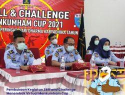 Pembukaan Kegiatan Skill and Challenge Menembak Virtual Menkumham Cup