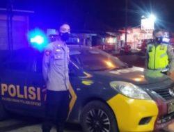 Sat Samapta Polres Cimahi Gelar Patroli Malam Bubarkan Kerumunan