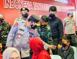 Kapolri Tegaskan Soliditas dan Sinergitas TNI-Polri akan Wujudkan Kekebalan Komunal