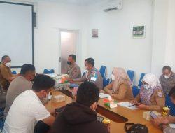 Kasi Propam Polres Cimahi Gelar Rapat Analisa Dan Evaluasi Satuan Tugas Saber Pungli