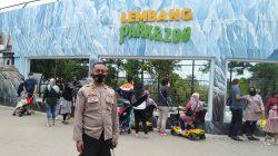 Pawas Polres Cimahi Pantau Situasi Obyek Wisata Park Zoo Lembang