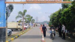 Polsek Padalarang Perketat Pengawasan di Pasar Curug Agung
