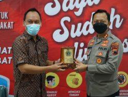 Berperan Aktif dalam Vaksinasi, STTW Surakarta Dapat Penghargaan dari Kapolres Sukoharjo