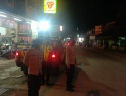 Kapolsek Cipeundeuy Gelar Patroli gabungan TNI-POLRI Antisipasi Wabah Virus Corona Covid-19