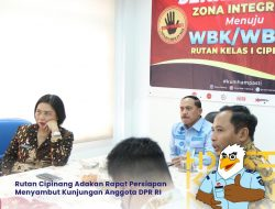 Rutan Cipinang Adakan Rapat Persiapan Menyambut Kunjungan Kerja Anggota DPR RI