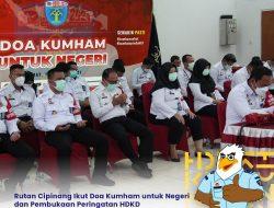Rutan Cipinang Ikut Doa Kumham untuk Negeri dan Pembukaan Peringatan HDKD