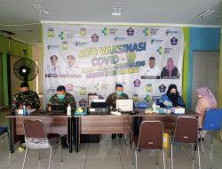 Satgas Covid-19 Lanud SIM Kembali Serbuan Vaksinasi Di Mall Lambaro Aceh Besar