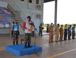 Danlanud SIM Tutup Pendidikan Paralayang Angkatan Pertama Kabupaten Aceh Besar