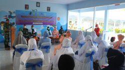 Tk Angkasa Lanud SIM Laksanakan Program Pelayanan Paud Holistik Intregratif Kerjasama Antara Yasarini Cabang Lanud SIM Dengan Puskesmas Blang Bintang Aceh Besar