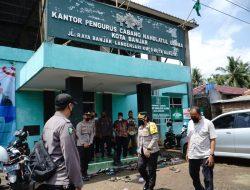 Menggandeng PCNU, Polres Banjar Gelar Gerai Vaksinasi Presisi di Sekretariat PCNU