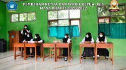 SMK Alhusna Cisaga Kabupaten Ciamis Gelar Kegiatan Pemilihan Pengurus OSIS Tahun Ajaran 2021 2022