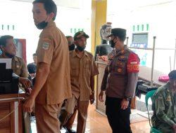 Kapolsek Banjarsari Monitoring Pelaksanaan Akselerasi Vaksinasi Di Wilayah Hukum Polsek Banjarsari