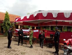 Anggota Brimob Polda Jabar Laksanakan Pengamanan Pilkades Di Kabupaten Bandung