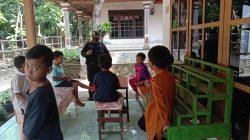 Brimob Jabar Himbau Anak – Anak Desa Pejambon Agar Stay At Home